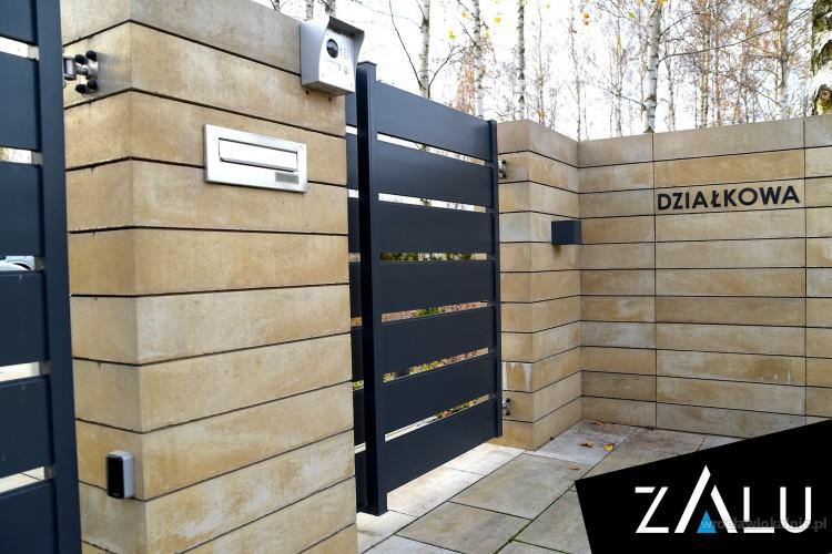 Ogrodzenia aluminiowe, furtki, bramy - produkcja i montaż