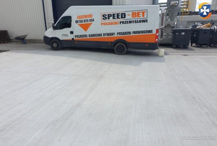Firma Speed-Bet Posadzki Przemysłowe Posadzki Betonowe