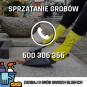 Sprzątanie grobów, mycie grobów Wrocław